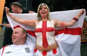 Tifosa Inghilterra