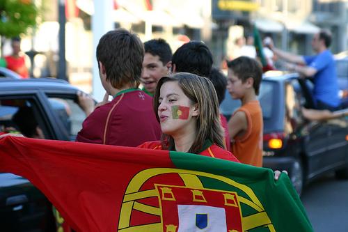 Tifosa Portogallo